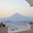 淡島ホテルより富士山